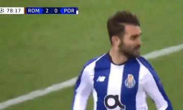 Το γκολ της Πόρτο επί της Ρόμα (vid)