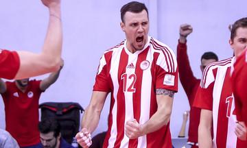 """Ολυμπιακός-Μπουργκάς: Απνευστί στους """"4"""" , με 4-0 σε 87'  με Κουμεντάκη, Πετρέα, Σμιτ."""