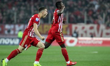 Τα γκολ του Ολυμπιακός-ΑΕΚ 4-1 (vid)