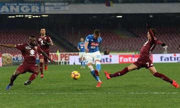 Serie A: «Γκέλα» της Νάπολι κόντρα στην Τορίνο (0-0)