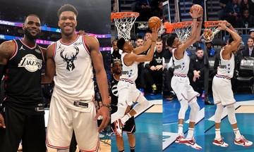 NBA All Star Game 2019: Απίθανη παράσταση Αντετοκούνμπο, νίκη για Team LeBron (vids)
