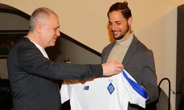 Ο Φραν Σολ υποσχέθηκε πολλά γκολ στην Ντιναμό Κιέβου