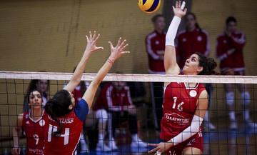 Κύπελλο Βόλεϊ Γυναικών: Ηλιούπολη-Ολυμπιακός 0-3 με πάσα την Κωνσταντινίδου