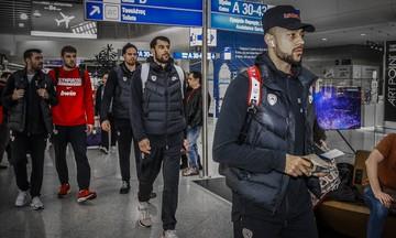 Με μία ώρα καθυστέρηση η πτήση του Ολυμπιακού για την Κωνσταντινούπολη