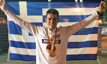 Α.Μ.Ε.Α: Παγκόσμιο ρεκόρ ο Μαλακόπουλος