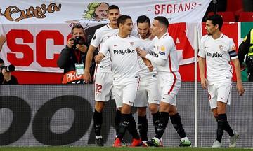 Europa League: Στους «16» η Σεβίλλη, 2-0 την Λάτσιο (vid)