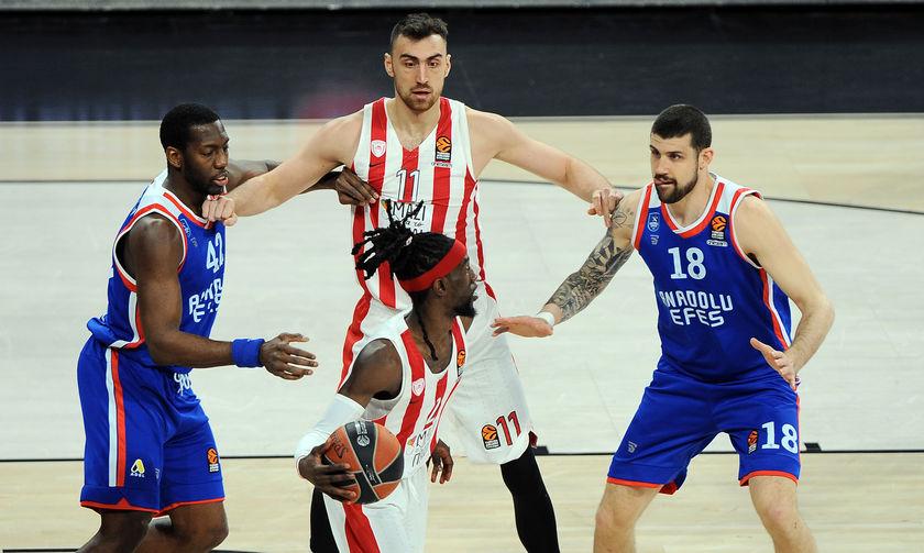 Εφές Αναντολού - Ολυμπιακός 75-65: Οριστικά εκτός τετράδας...