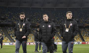 Ντιναμό Κιέβου-Ολυμπιακός: Ετοιμάζει αλλαγές ο Μαρτίνς