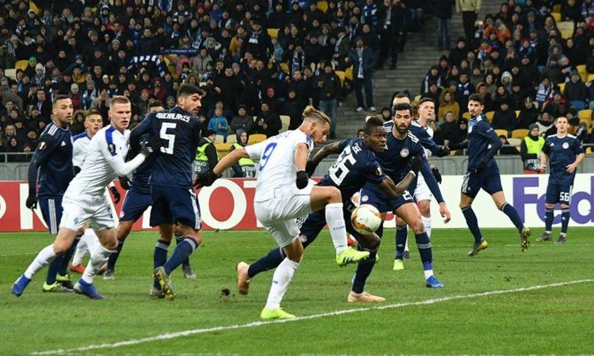 Τρια γκολ, όλα από το κέντρο της άμυνας του Ολυμπιακού για τη Ντιναμό (vids)