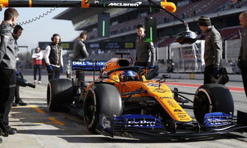 Τρεις μηχανικοί της McLaren στο νοσοκομείο μετά από φωτιά στο γκαράζ