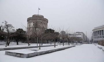 Το έστρωσε στη Θεσσαλονίκη - Δείτε την Τούμπα στα λευκά (pic)