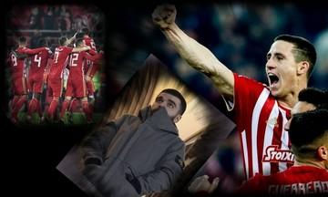 Ο θρίαμβος του Ολυμπιακού επί της ΑΕΚ, η οργή για τον Ποντένσε και ο προκλητικός Σαββίδης