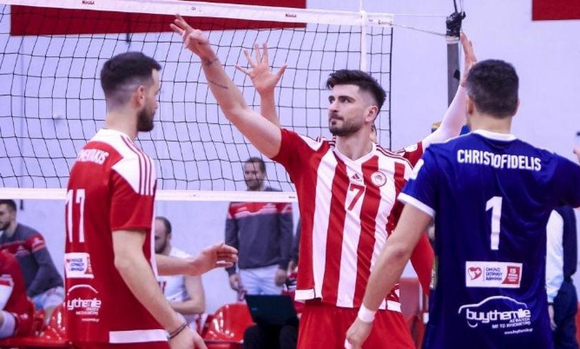 Volleyleague: Συνεχίζεται η «ερυθρόλευκη» προέλαση