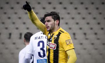 ΑΕΚ - Απόλλων Σμύρνης 2-1: Την έσωσε ο Μπογέ