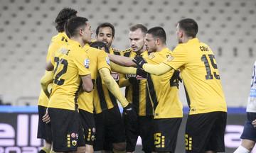 Τα γκολ του ΑΕΚ - Απόλλων Σμύρνης 2-1 (vid)
