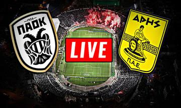LIVE: ΠΑΟΚ - Άρης 1-1 (τελικό)