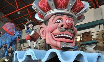 Πατρινό καρναβάλι: Ο Κινγκ Κογκ, ο δράκος της Κίνας και οι 300 του Λεωνίδα