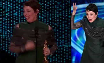 Οσκαρ 2019: Η τρομερή ομιλία της Ολίβια Κόλμαν που τρέλανε το Twitter (pics-vids)