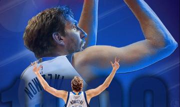Ο Νοβίτσκι στα βήματα των θρύλων του NBA, Πάρις, Τζαμπάρ και Στόκτον