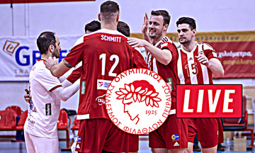 LIVE: Ολυμπιακός - Τρεντίνο (19:00)
