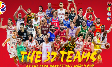 Οι 32 ομάδες του Παγκοσμίου Κυπέλλου