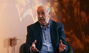 Ντελ Μπόσκε: «Επιλέγω Μέσι από τον Ρονάλντο»