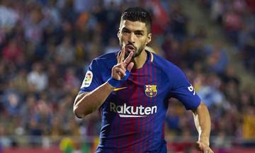 Γκολ του Σουάρες για το Ρεάλ Μαδρίτης-Μπαρτσελόνα 0-1 (vid)