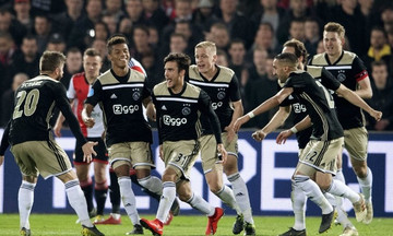 Κύπελλο Ολλανδίας: Με εμφατικό τρόπο στον τελικό ο Άγιαξ, 0-3 της Φέγενορντ