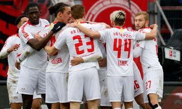 Bundesliga: Τρίτη η Λειψία, επική ανατροπή για την Άιντραχτ