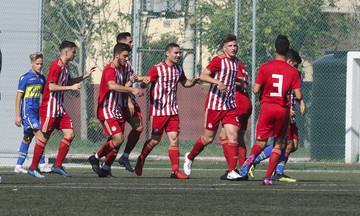 Κ17: Διπλό με «τριάρα» για τον Ολυμπιακό, 3-0 τον Αστέρα Τρίπολης