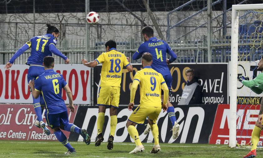 Αστέρας Τρίπολης-Παναιτωλικός 3-0: Καλύτερα… λιγότεροι