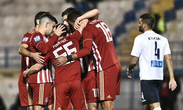 Απόλλων Σμύρνης-Ολυμπιακός 0-2: Ρεσιτάλ του Ποντένσε