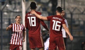 Τα highlights του Απόλλων Σμύρνης - Ολυμπιακός 0-2 (vid)