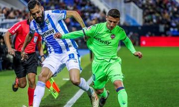 La Liga: Σημαντική νίκη για Λεγανές, 1-0 την Λεβάντε (αποτελέσματα, βαθμολογία)