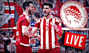 LIVE Score: Τρεντίνο - Ολυμπιακός 3-1 (25-19, 25-19, 17-25, 25-17)