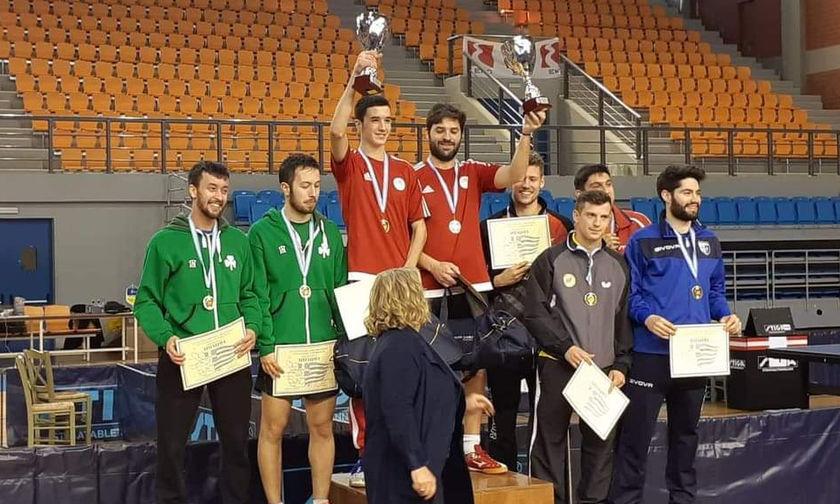 Πινγκ - Πονγκ: Πρωταθλητής ο Ολυμπιακός με νίκη επί του Παναθηναϊκού! (pics)