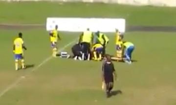 Παίκτης πέθανε στο γήπεδο, αλλά το ματς συνεχίστηκε! (vid)