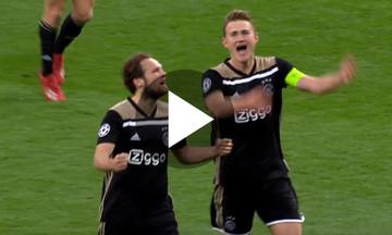 """Ολλανδικό μεθύσι από τους παίκτες και τους οπαδούς του Αγιαξ στο """"Μπερναμπέου"""" (vid)"""