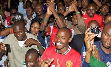 Χαμός στην Κένυα για την πρόκριση της Μάντσεστερ Γιουνάιτεντ (vid)
