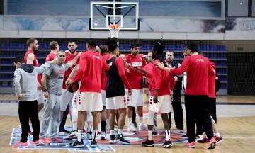 Ολυμπιακός: Η προπόνηση στο Μαυροβούνιο (vid)