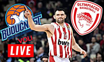 LIVE: Μπούντουσνοστ - Ολυμπιακός (20:00)