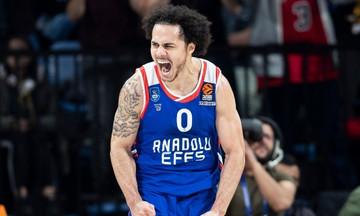 Ο Λάρκιν αναδείχθηκε MVP της 25ης αγωνιστικής της Euroleague