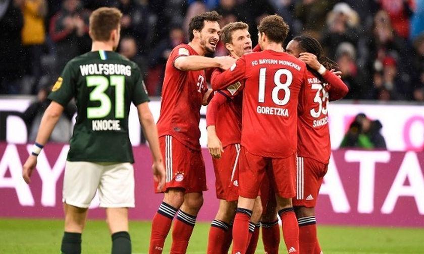 Bundesliga: Εξάρα η Μπάγερν, δύσκολα η Ντόρτμουντ (highlights)