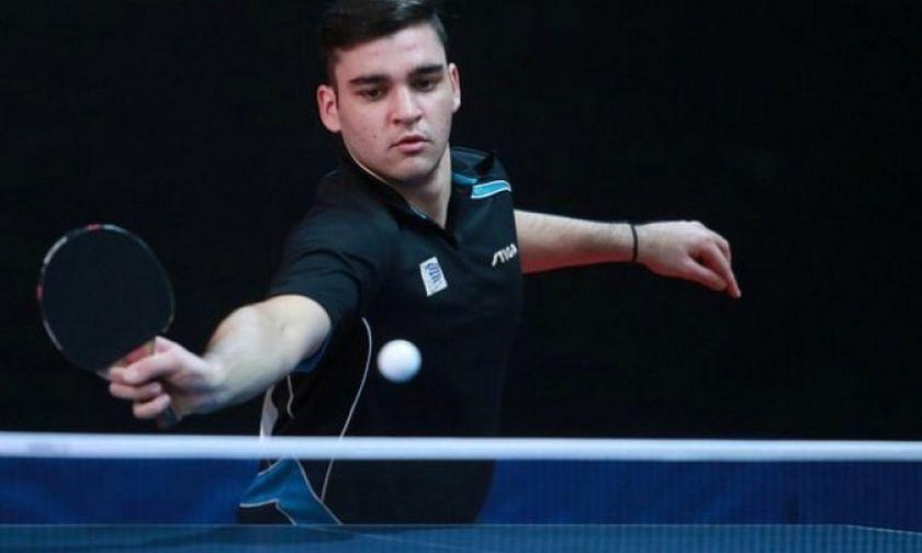 Πινγκ-Πονγκ: Ο Σγουρόπουλος στον τελικό του ευρωπαϊκού Κ21