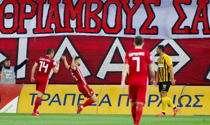 Oλυμπιακός- Άρης 4-1: Τα highlights του αγώνα