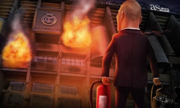 Το «Μπερναμπέου» φλέγεται, σε ρόλο πυροσβέστη ο Ζιντάν