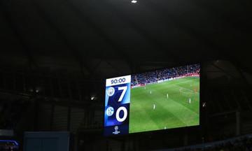 Το αυτοτρολάρισμα της Σάλκε για τα επτά γκολ από τη Μάντσεστερ Σίτι (vid)