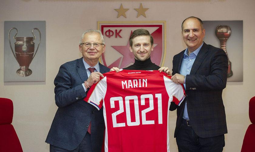 Νέο συμβόλαιο με τον Ερυθρό Αστέρα ο Μάρκο Μάριν
