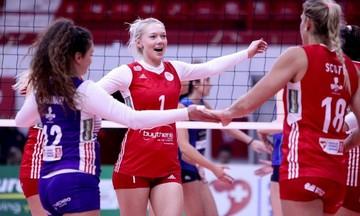 Ολυμπιακός - Θέτιδα Βούλας 3-0: Προκρίθηκε για 11η σερί φορά στο Final Four