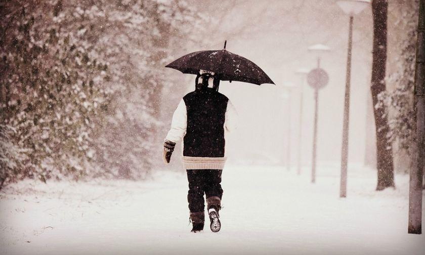 Νέα επειδείνωση του καιρού σήμερα με χιόνια και καταιγίδες